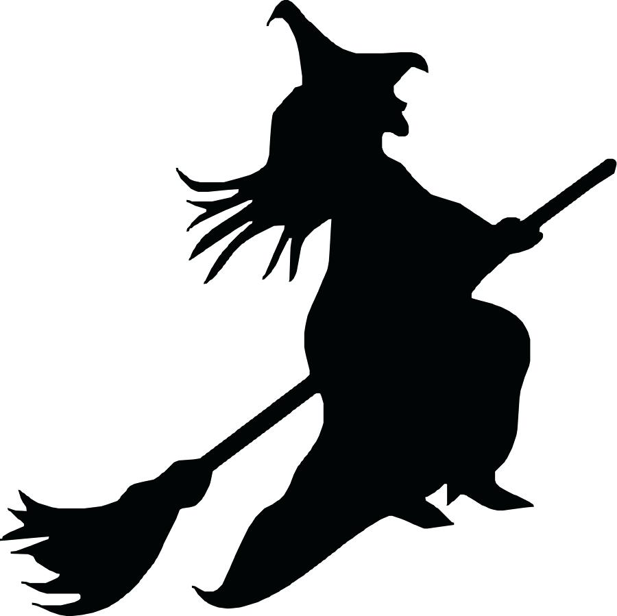 900x899 Witch Silhouette Template Choice Image