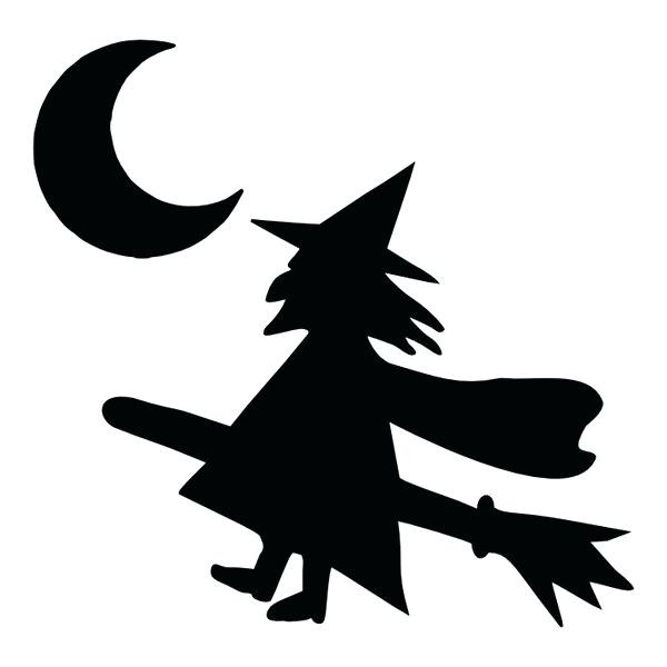 600x600 Witch Silhouette Template Images Of Witch Face Pumpkin Carving