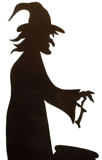 360x564 28 Images Of Creepy Halloween Silhouette Template