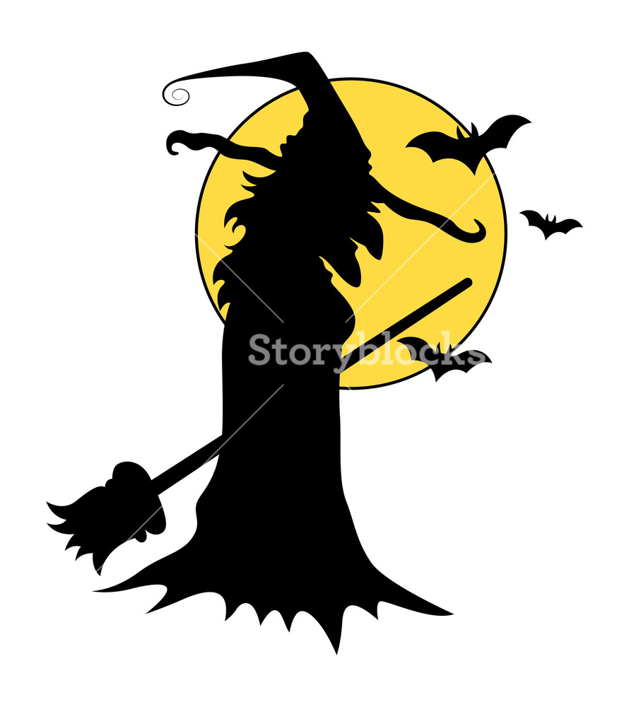 890x1000 Witch Silhouettes