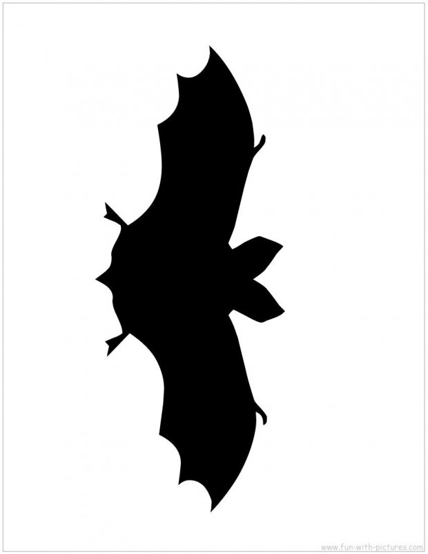 620x802 Halloween Window Silhouettes Template Complete Vision Stunning