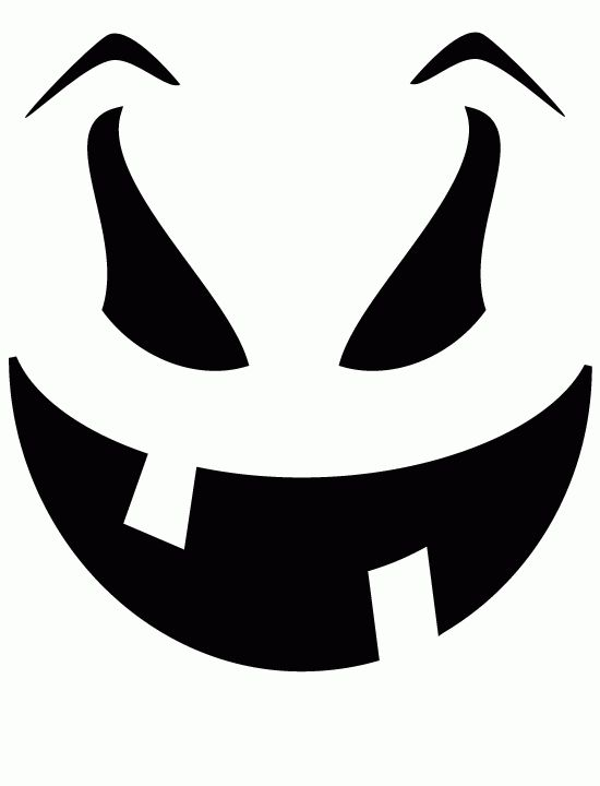 550x720 Pumpkin Carving Silhouette Clipart Witch Face