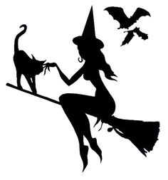 236x253 Witch Silhouette Design, Silhouette And Witches