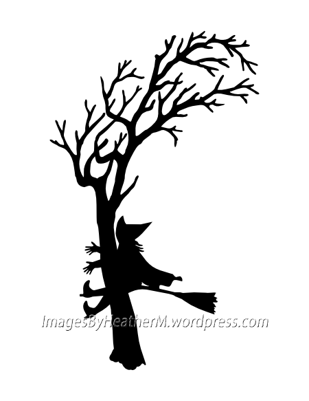 450x583 Witch Crash Silhouette With Svg And Dxf Files Images By Heather