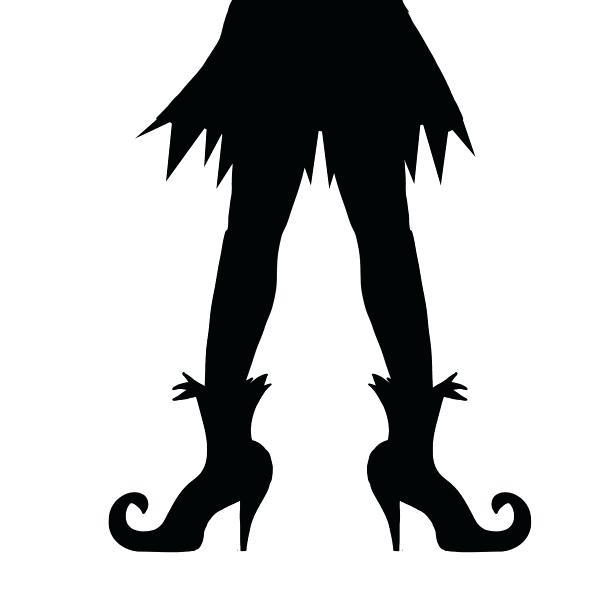 615x615 Halloween Silhouette