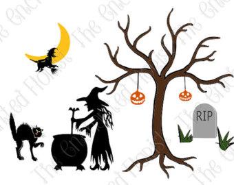 340x270 Halloween Bundle Svg Halloween Clipart Svg Halloween Clip Art Svg