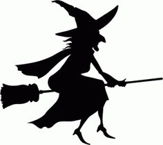 236x209 Witch Silhouette Witch Clip Art Images Wicked Witch Stock Photos