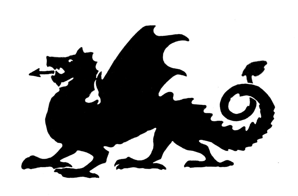 1200x791 Dragon Clipart Silhouette Many Interesting Cliparts