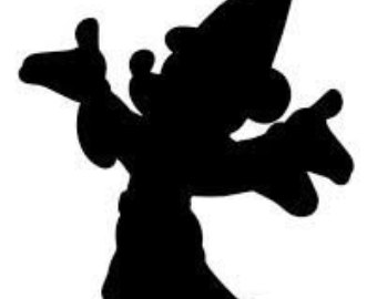 340x270 Free Mickey Silhouette, Hanslodge Clip Art Collection