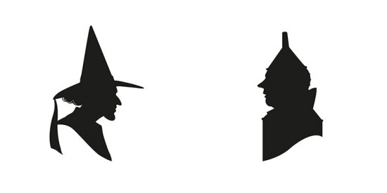 550x275 Wizard Of Oz Characters Silhouette Images Free Download