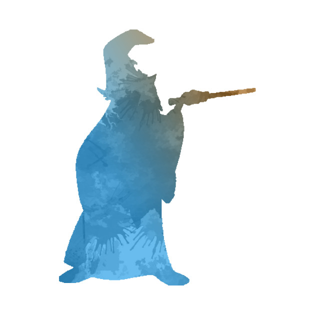 630x630 Wizard Inspired Silhouette