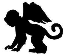 236x191 Flying Monkey Silhouette