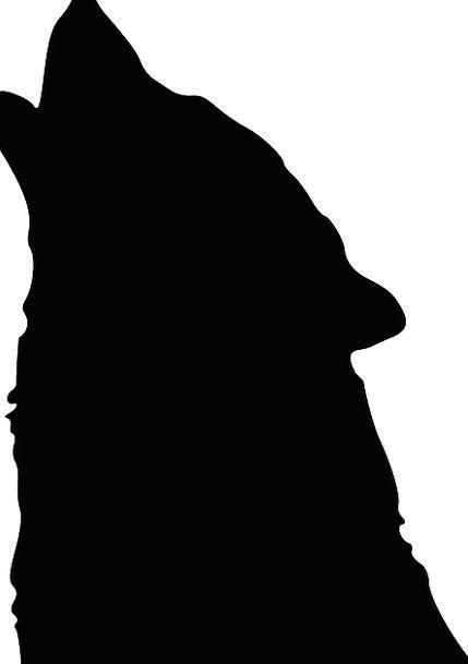 429x609 Wolf, Casanova, Outline, Howling, Loud, Silhouette, Howl, Wail
