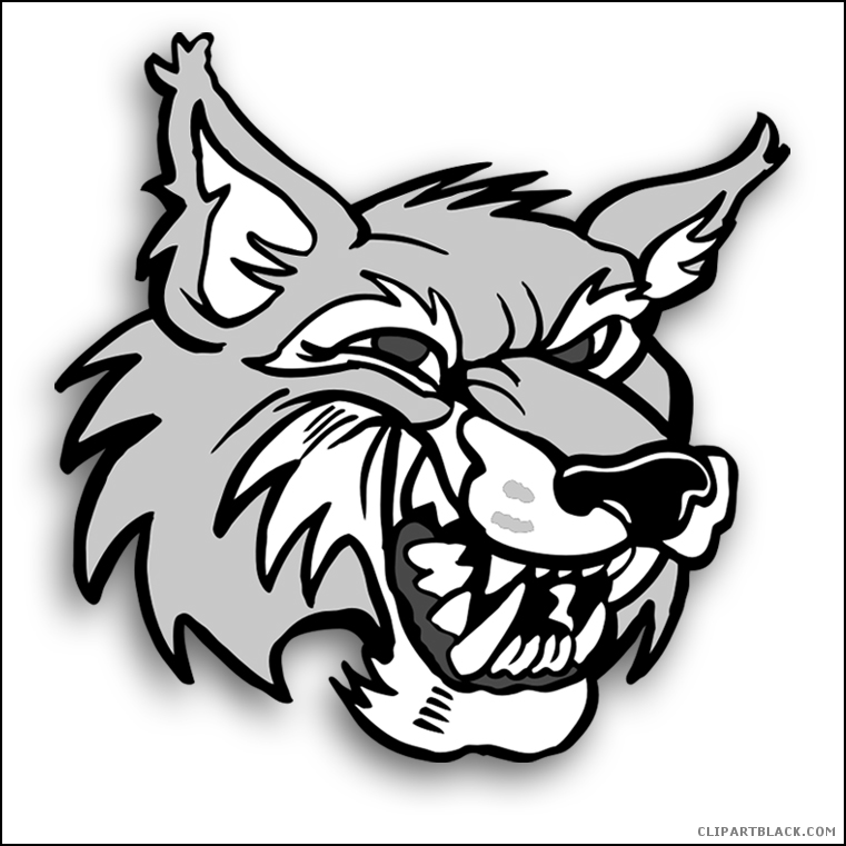 761x761 Wolf Face Animal Free Black White Clipart Images Clipartblack