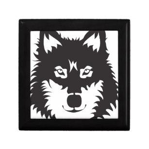 307x307 Wolf Face Gift Boxes Amp Keepsake Boxes Zazzle