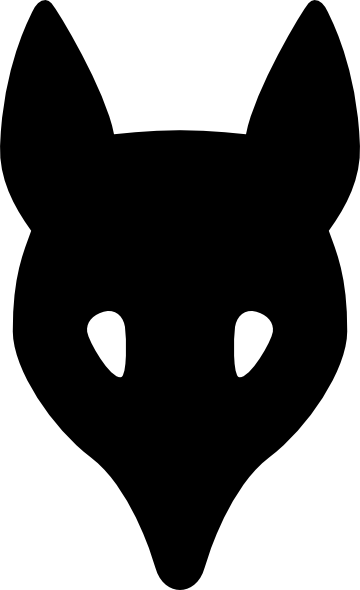 360x590 Wolf Head Silhouette Clip Art
