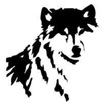 204x204 Bildergebnis Wolf Silhouette Diy Wolf Spirit