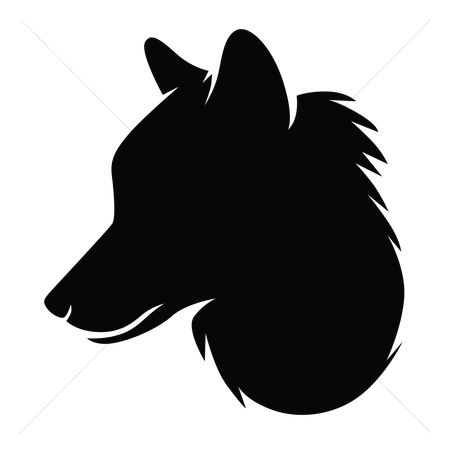 450x450 Free Wolf Head Stock Vectors StockUnlimited