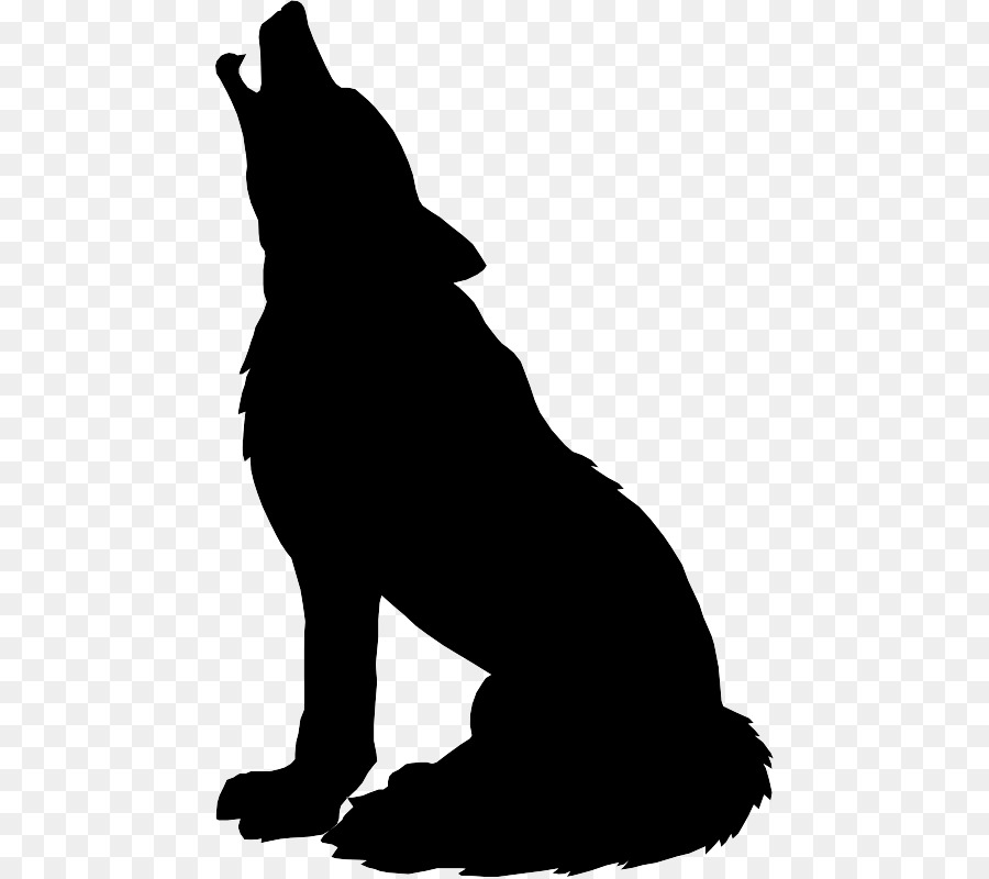900x800 Gray wolf Silhouette Drawing Clip art