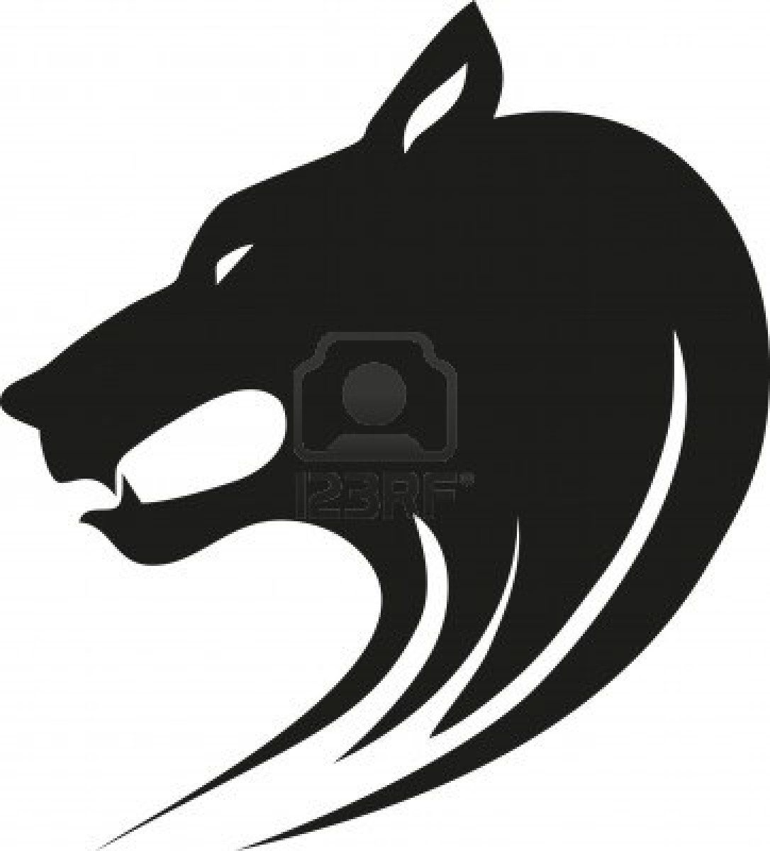 1086x1200 Tribal wild wolf. Tattoo style vector. Stock Photo Tattoos that