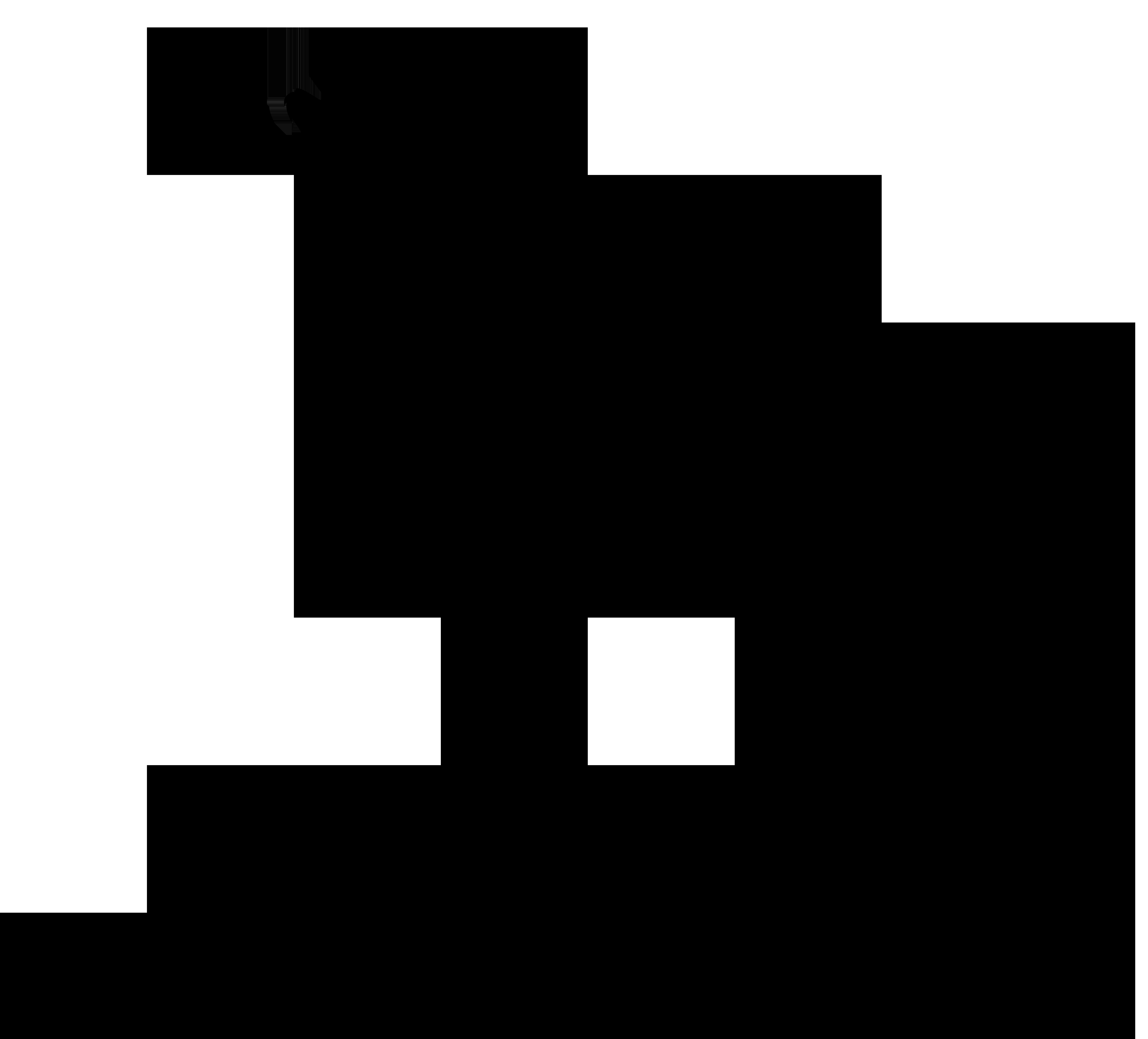 8000x7239 Clip Art Wolf Silhouette Clip Art