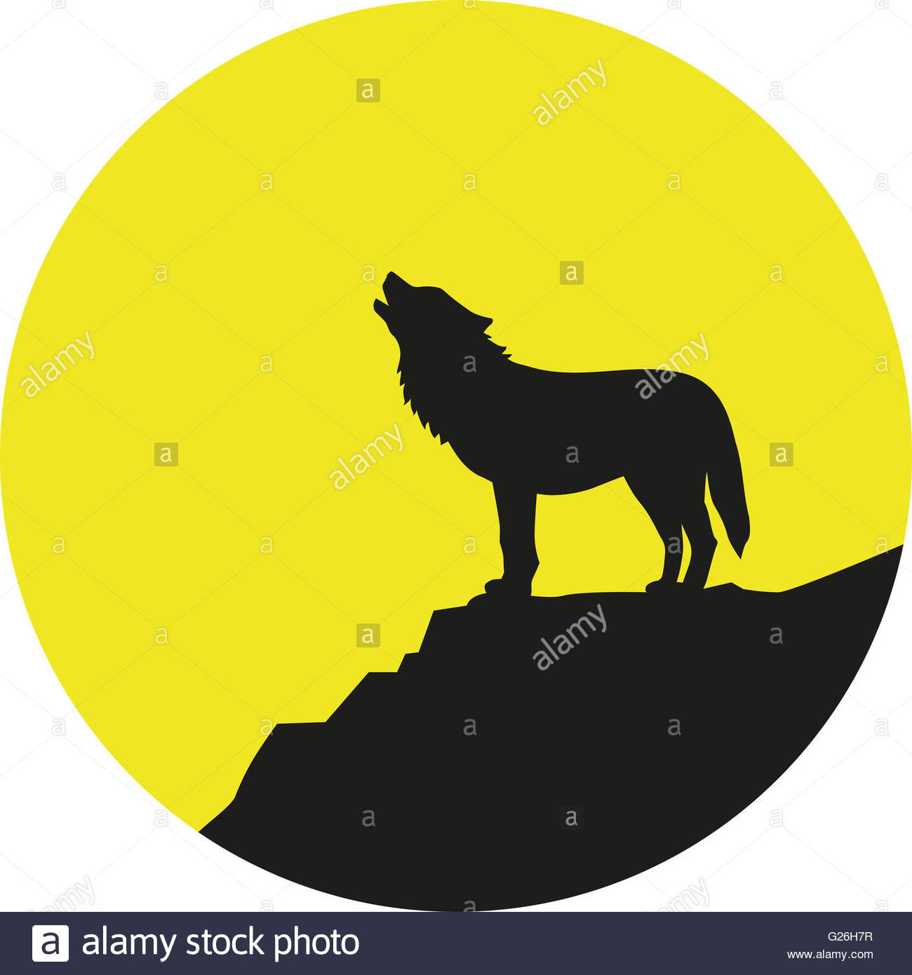 1300x1390 Wolf Howling Moon Stock Photos Amp Wolf Howling Moon Stock Images