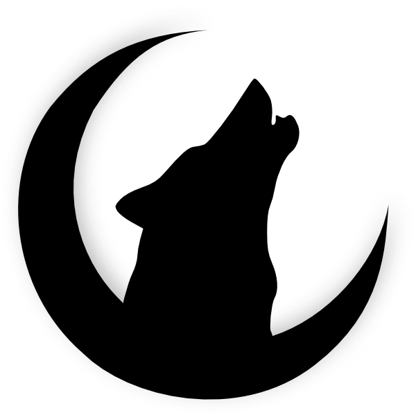 600x599 Howling+Wolf+Head+Drawing Wolf Howling With Moon clip art My