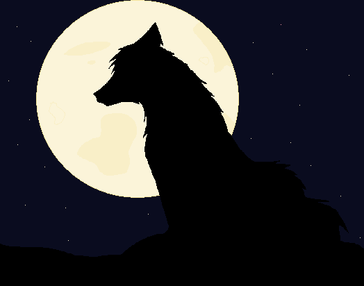 524x412 Wolf And Moon By Rockleefreak13
