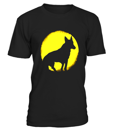 480x540 Wolf Moon Pumpkin Sun Undead Dog Moon Silhouette T Shirt