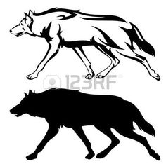 236x234 Wolf Silhouette Vector Get Free Download Wolf Silhouette Body