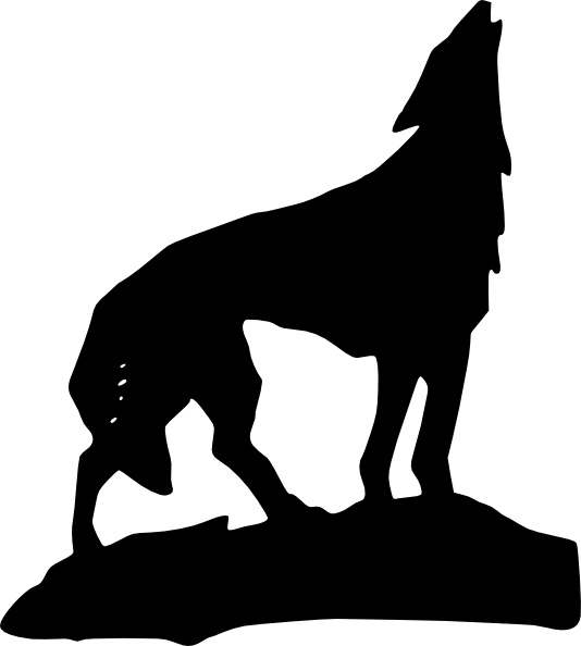 534x594 Wolf Clip Art Free Vector In Open Office Drawing Svg ( Svg