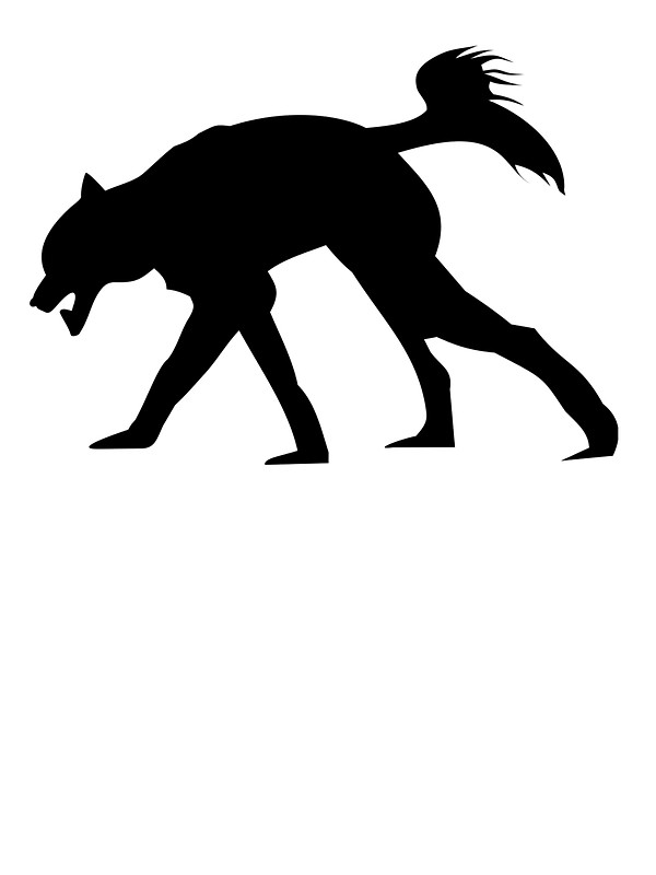 600x800 Gallery For Wolf Howling Silhouette Clip Art