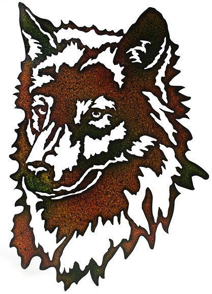 417x579 Laser Cut Metal Wolf Head Laser Cut Metal, Laser Cutting And Wolf