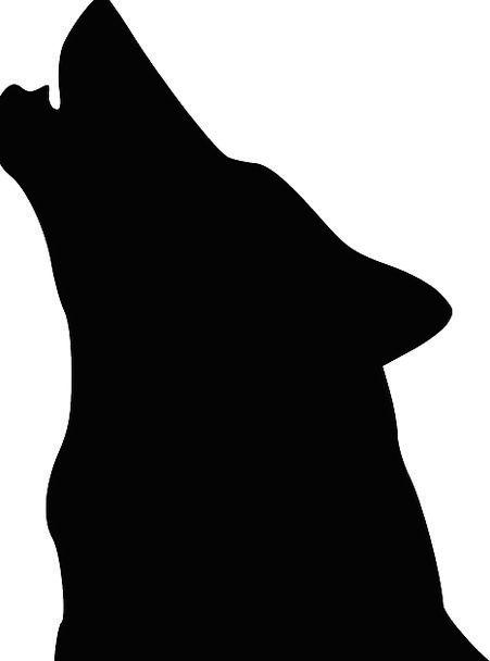 451x608 Wolf, Casanova, Skull, Silhouette, Outline, Head, Beast, Face