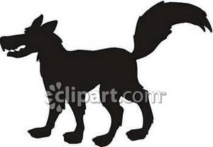 300x207 Wolf Silhouette