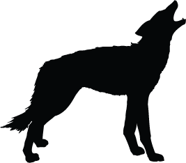 267x234 Wolf Silhouette Silhouette Of Wolf