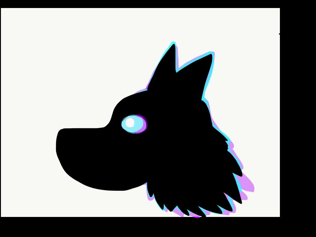 1024x768 Wolf Silhouette By Dank Dreamer
