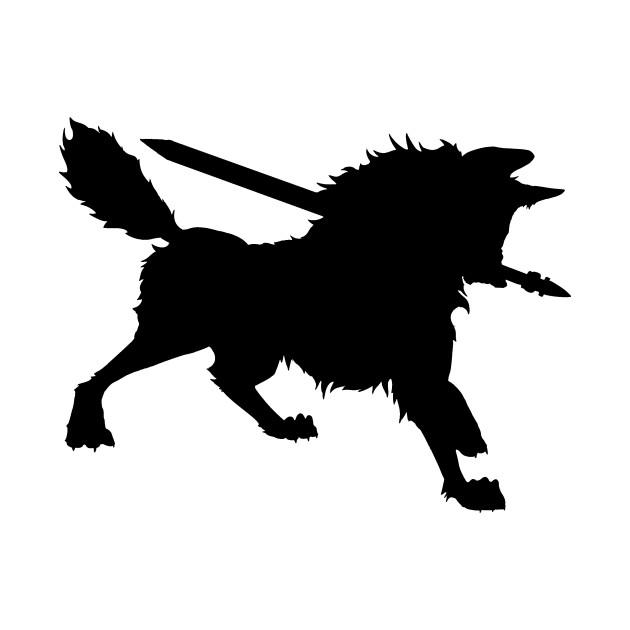 630x630 Great Grey Wolf Sif Silhouette