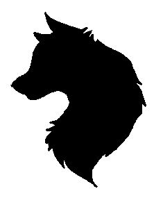 235x298 Vector Silhouette Download Wolf Wolf Silhouette Vinyl Decals