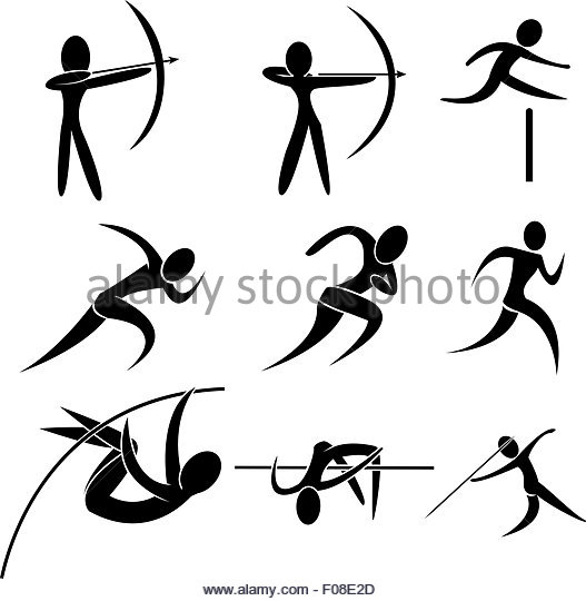 527x540 Woman Archer Black And White Stock Photos Amp Images