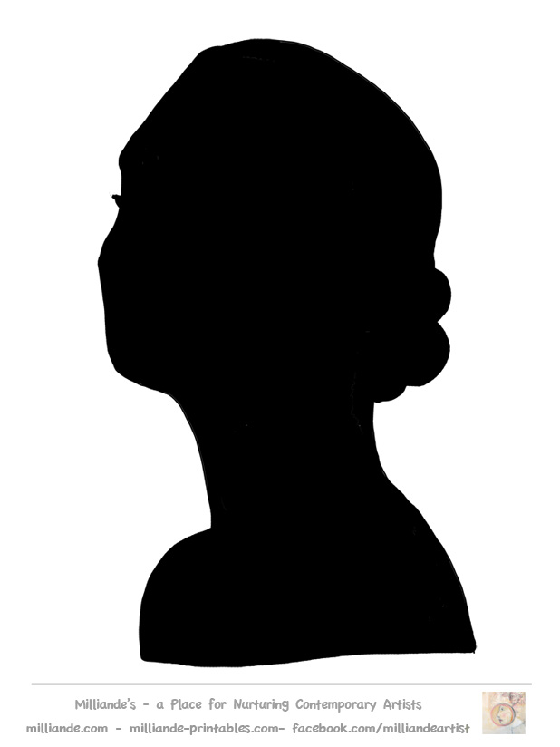 Woman Back Silhouette