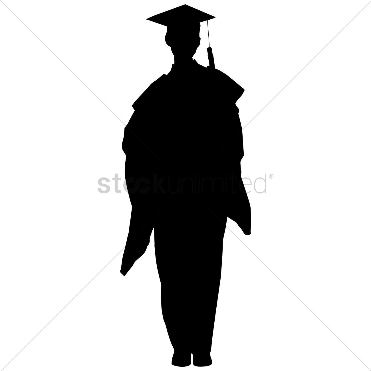 1300x1300 Silhouette Clipart Graduate