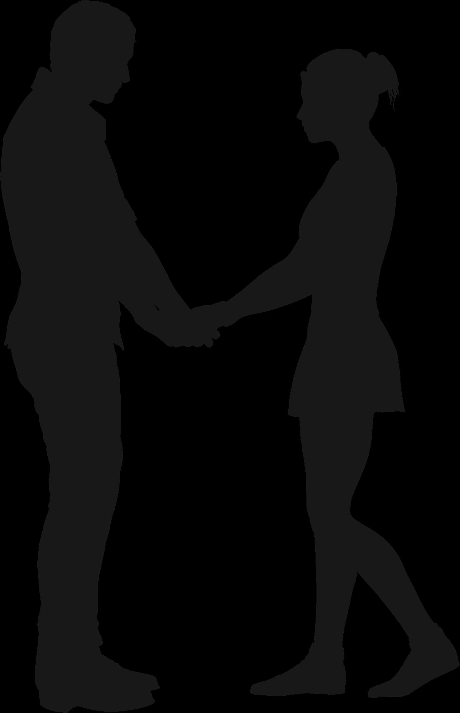 1468x2272 Silhouette Clipart Couple