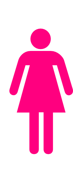 240x593 Woman Bathroom Clipart, Explore Pictures