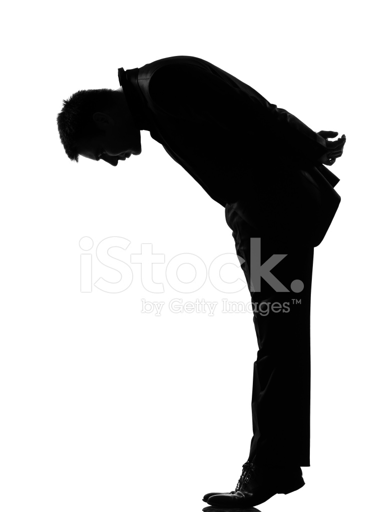 765x1024 Silhouette Man Tip Toe Looking Down Stock Photos