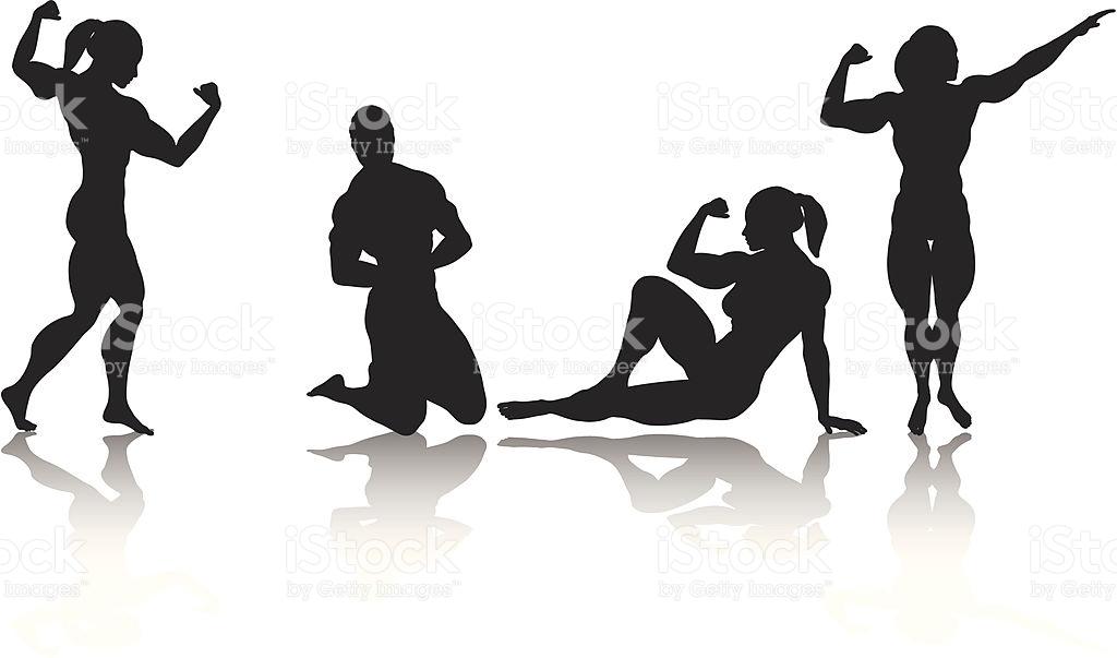 1024x603 Clip Art Female Body Builder Bodybuilder Cliparts Free Download