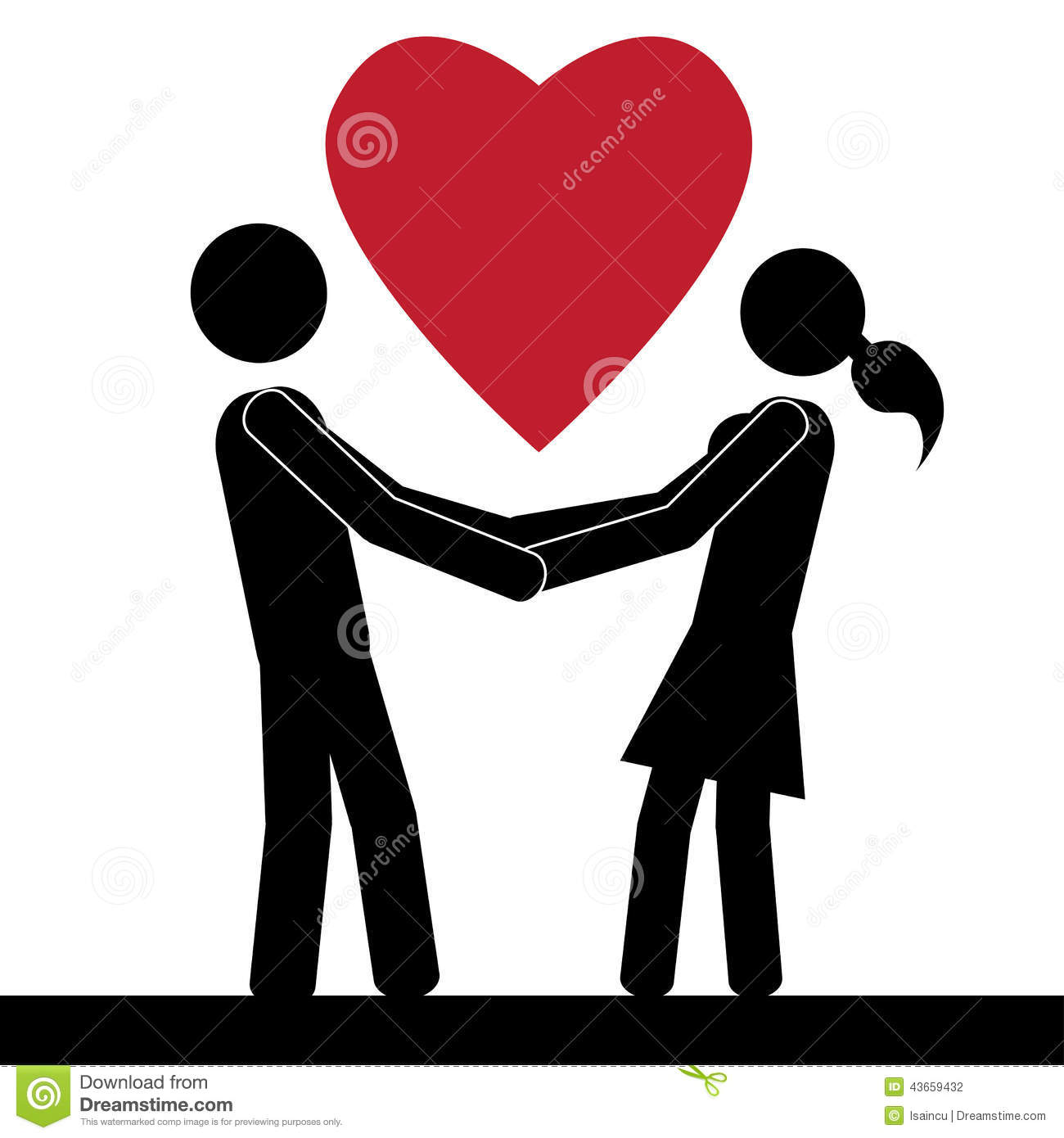 1300x1390 Love Clipart Man Woman Holding Hand