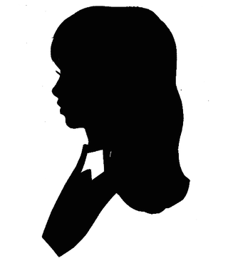 320x369 Free Woman Profile Silhouette, Hanslodge Clip Art Collection