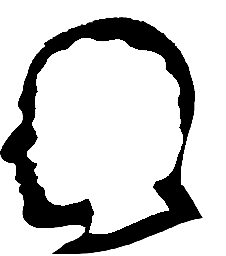 731x827 Face Silhouettes Of Men, Women And Children
