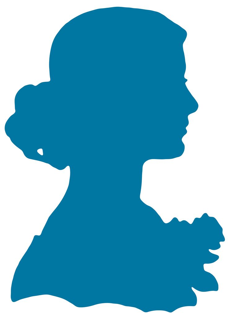 Woman Portrait Silhouette